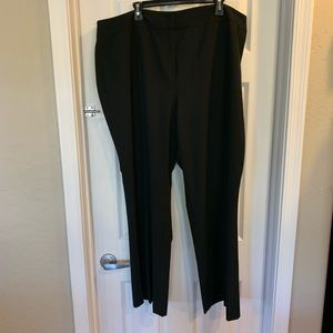 Vince Camuto Black Plus Size Dress Pants